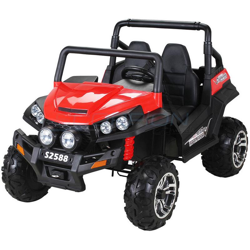 ScorpionWheels Διθέσιο Ηλεκτροκίνητο παιδικό αυτοκίνητο Commander  κόκκινο με τηλεκοντρόλ 5248088